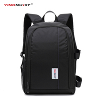 Multi functional Waterproof Camera Backpack Laptop Video Case DSLR Camera Bag for Nikon Canon Sony Digital Camera