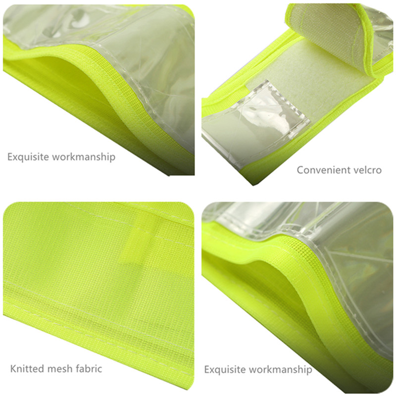 Image 5 - High Visibility LED Light Up Safety Reflective Vest Night Safety Warning Clothing Traffic led Safety Vest Reflective t shirt-in Safety Clothing from Security & Protection
