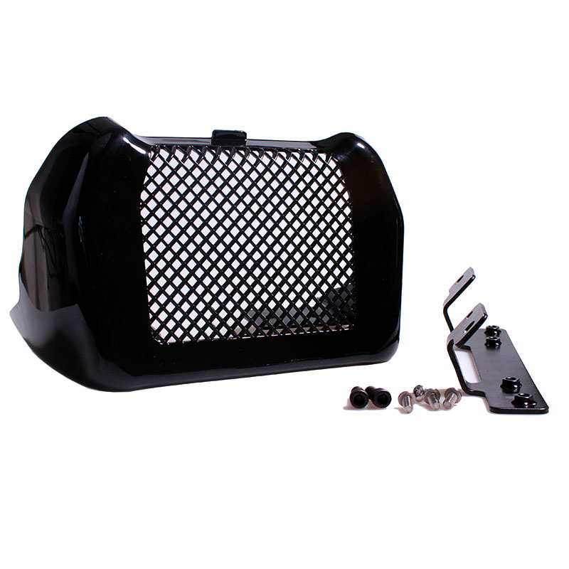 Motorcycle Engine Oil Cooler Cover Trim Mountingt Kit For Harley Touring Road King Street Glide Freewheeler FLHXS FLTRX 17-18 rsd motorcycle 5 hole beveled derby cover aluminum for harley touring flh t 2016 2017 for flhtcul and flhtkl 2015 2016 2017