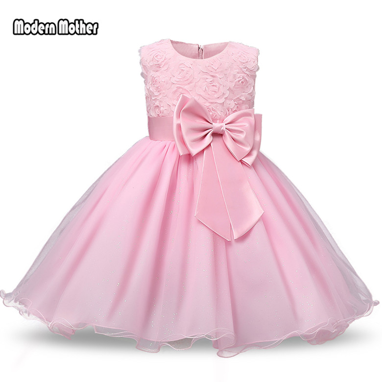 2018 Princess   Flower     Girl     Dress   Summer Tutu Wedding Birthday Party   Dresses   For   Girls   Children's Costume Teenager Prom Designs