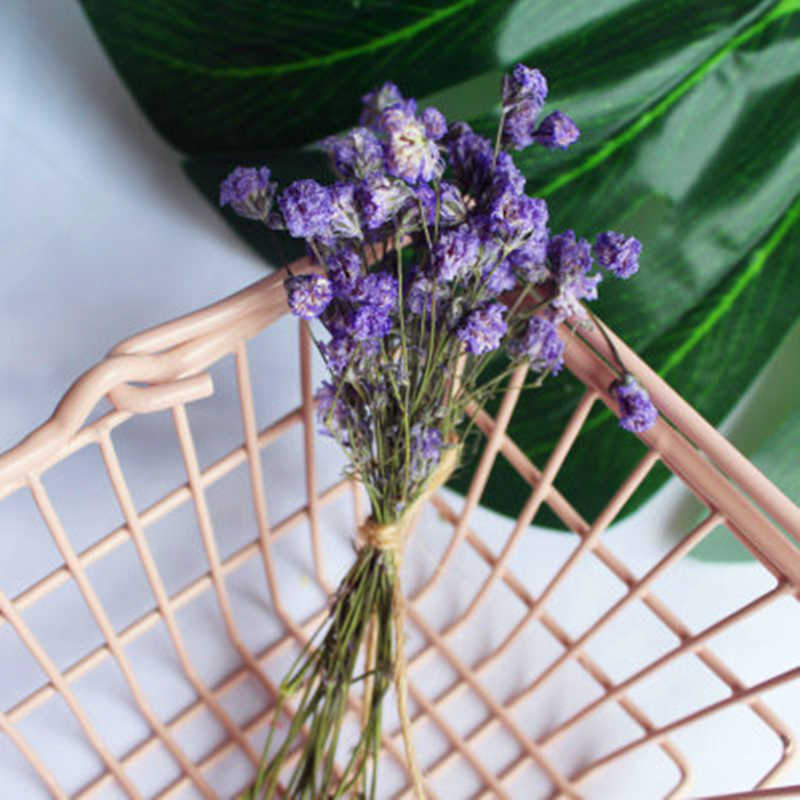 (1 piezas/venta) flores púrpura claro flores artificiales organizar mesa boda flores decoración fiesta accesorio caja de regalo artesanía