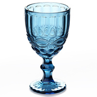 Bicchieri da vino retrò rilievo Vintage bicchiere da vino rosso 300ml incisione goffratura succo bicchieri bicchieri da Champagne assortiti