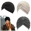 Cubierta de Poliéster Hijab Musulmán Tapa Interior Islámico completo Head Wear Sombrero Underscarf Colores