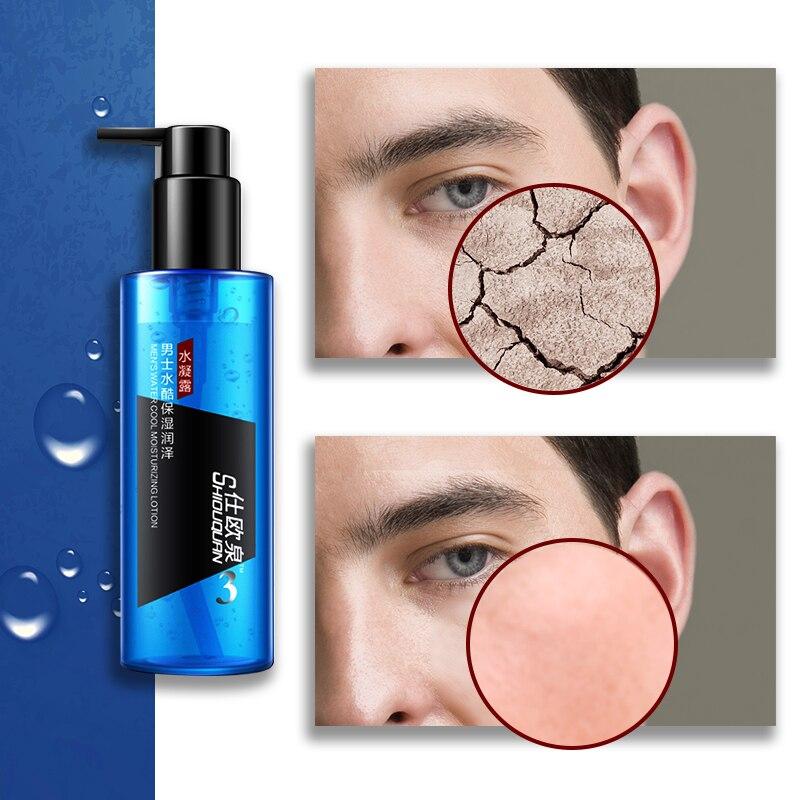 SHIOUQUAN Man Skin Care Face Care Moisturizing Hydrating Oil Control Refreshing Balancing Herbal Toner Facial Face Whitening gel
