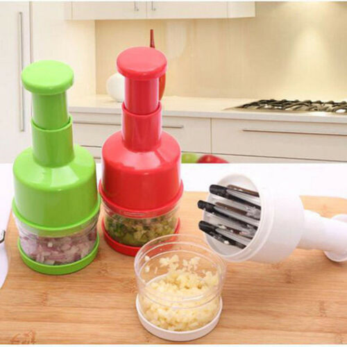 1pcs Chopper Pressing Cutter Vegetable Food Onion Chopper Garlic Slicer Peeler Dicer Mincer Kitchen Cooking Tool