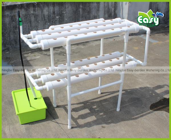 sistema de cultivo hidropnico nft con unids de taza neta tcnica de la pelcula de nutrientes nft envo gratuito