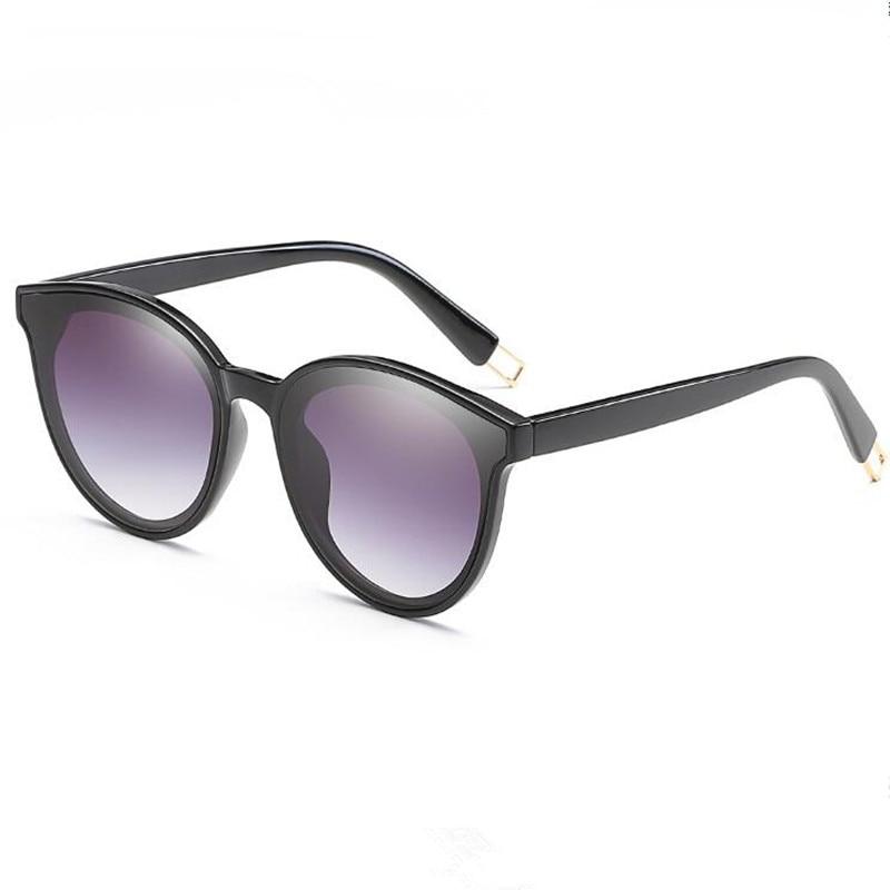 41390c8f35 2018 Fashion Women Colour Luxury Flat Top Cat Eye Sunglasses Elegant oculos  de sol men Twin Beam oversized Sun glasses UV400 -in Sunglasses from  Apparel ...