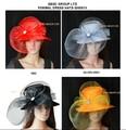 НОВОЕ ПРИБЫТИЕ Круглый Год Атласная Hat Кентукки Дерби Hat Официально Платье Hat Церковь Hat.