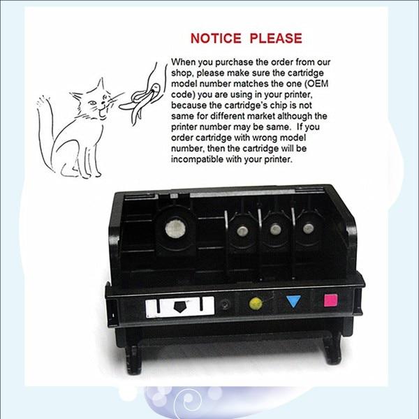 YOTAT (BK/Y/C/M) 862 printhead Remanufactured print head for HP862 for HP Photosmart C5324 C5370 D5460 D5463 D5468 C6375