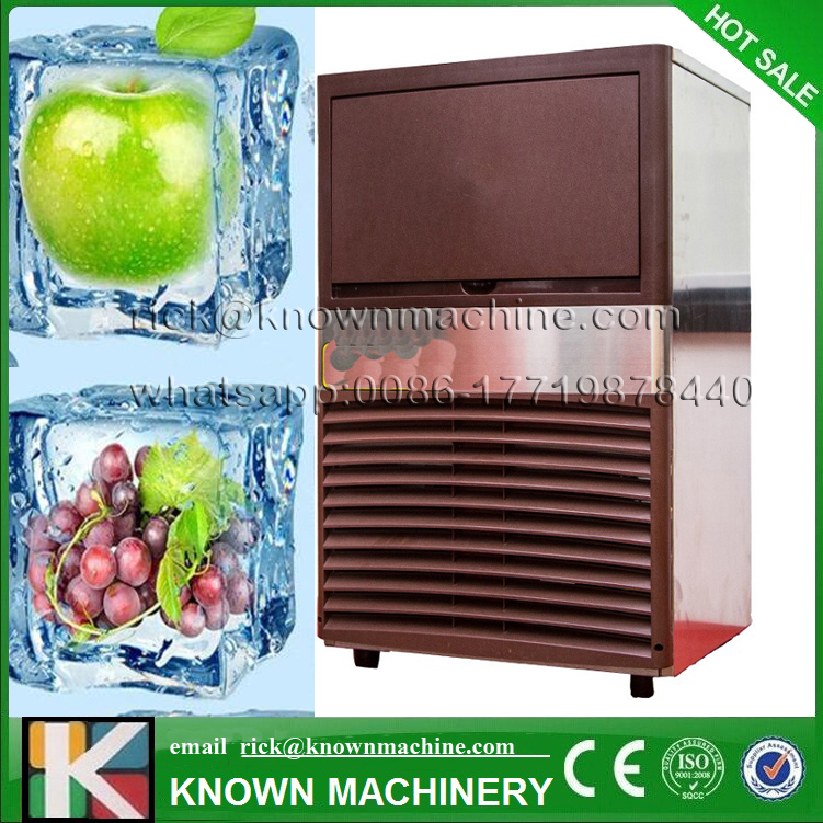 KN-50A 25kg 500*432*810mm Portable ice cube making machine with free shipping on hot sale 810 25