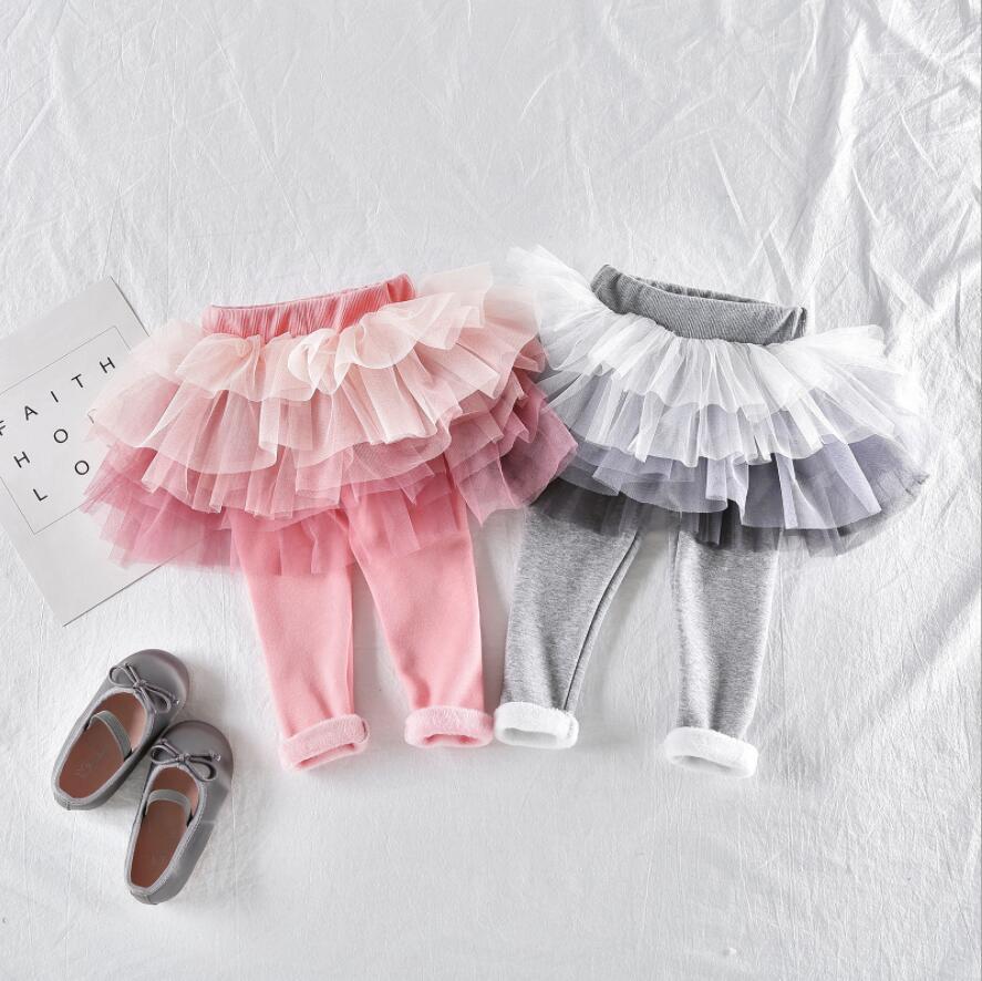 1 Stück Herbst Winter Baby Mädchen Tutu Pantskirts Dicke 6 Schichten Tutu Rock Hosen Für Kleine Mädchen 12 Monate Zu 5 T Halten Sie Die Ganze Zeit Fit