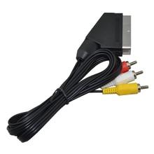 FZQWEG 1 8m AV SCART Audio Video Cable TV Lead For Nintendo NES