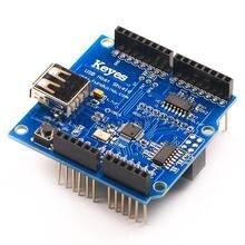 1PCS/USB Host Shield 2.0 for Arduino (Suppot Google ADK) Free Shipping, Dropshipping