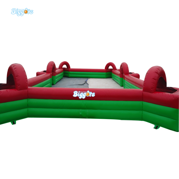 Inflatable Biggors Inflatable Billiards Field Outdoor Sports Games Inflatable Football Field free shipping 12 6 inflatable water sports games inflatable volleyball field inflatable beach volleyball field free a pump