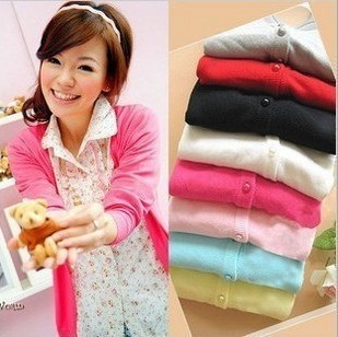 High Quality Sweet Sweater Ladies Shirt Cardigan Open Casual Womens Tops, Free & Drop Shipping