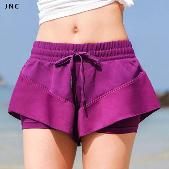 fa36c6010dcfe JNC Pro Barriacde Yoga Shorts Chic Workout Gear Sports Shorts Girls'  Running Shorts Cute Workout Clothes For Women