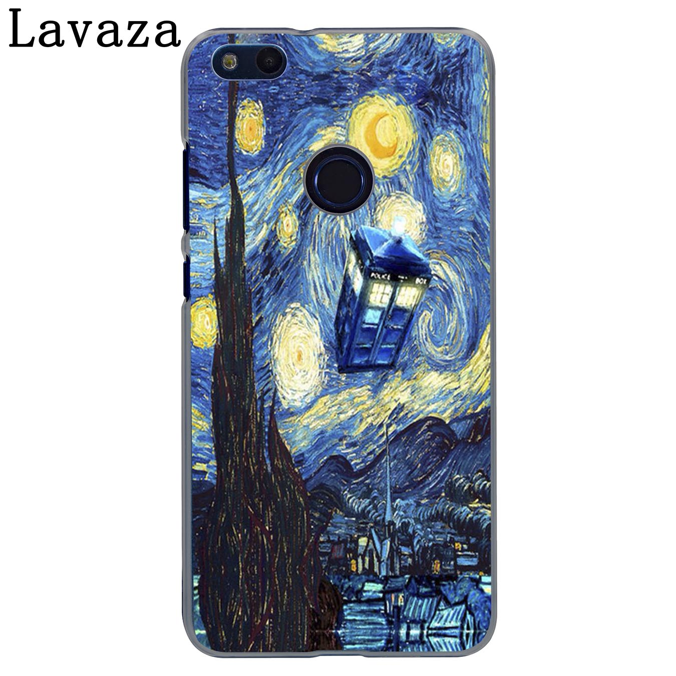 US $1 99 22% OFF|Lavaza Tardis Box Doctor Who Phone Case for Huawei Y7 Y6  Prime Y5 Y9 2018 2017 Honor play 10 8C 8X 8 9 Lite 7C 7X 7A Pro Cover-in