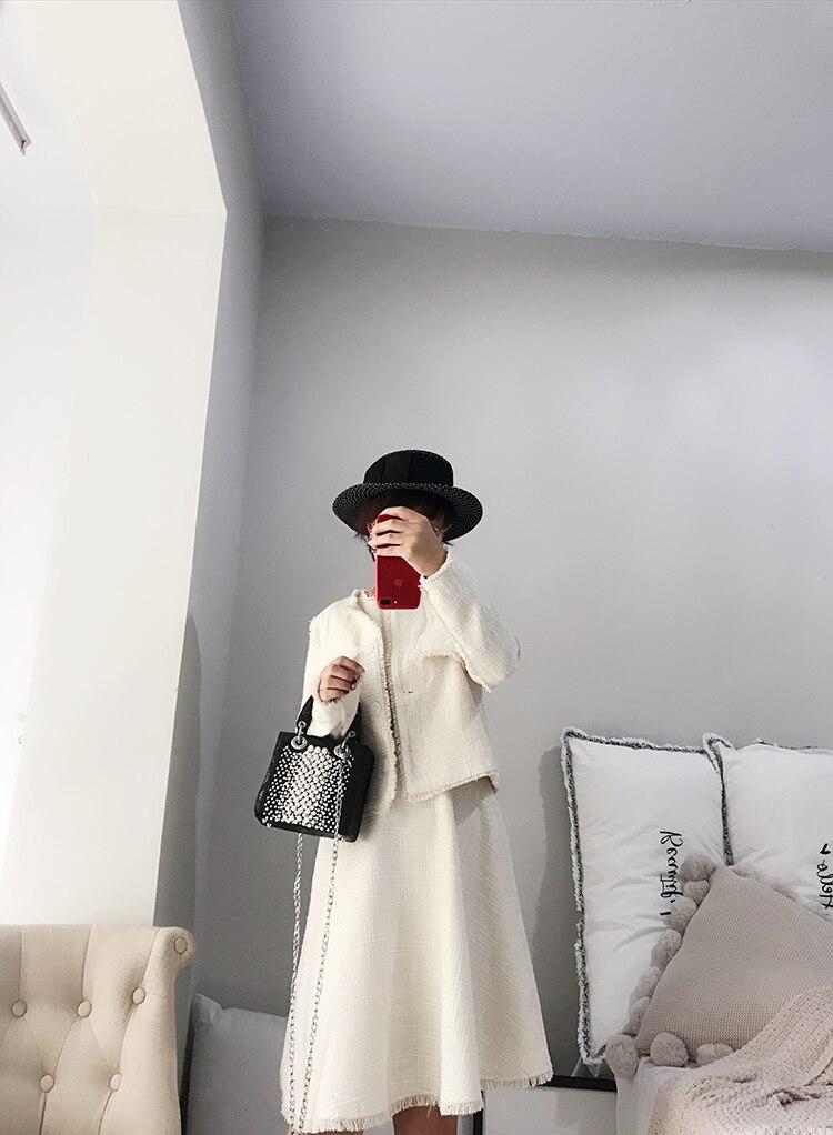 2019 nova moda tote saco de couro