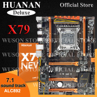 HUANAN Deluxe Version X79 Gaming Motherboard X79 LGA 2011 Motherboard ATX 4 Channels Support 16G Memory