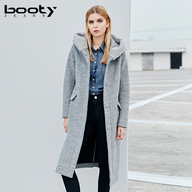 Bootyjeans 2017 Autumn Winter New British Fashion Street Style Women High Quality Wool Coat X
