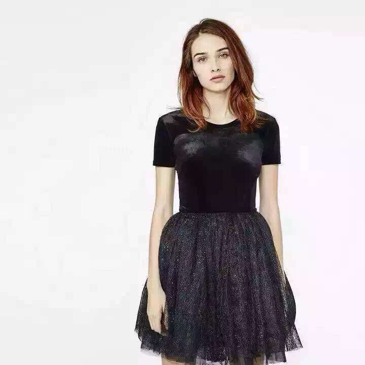 hot sexy Simple black short sleeve prom gown fast shipping 2018 new cheap vestido de festa graduation party   bridesmaid     dresses