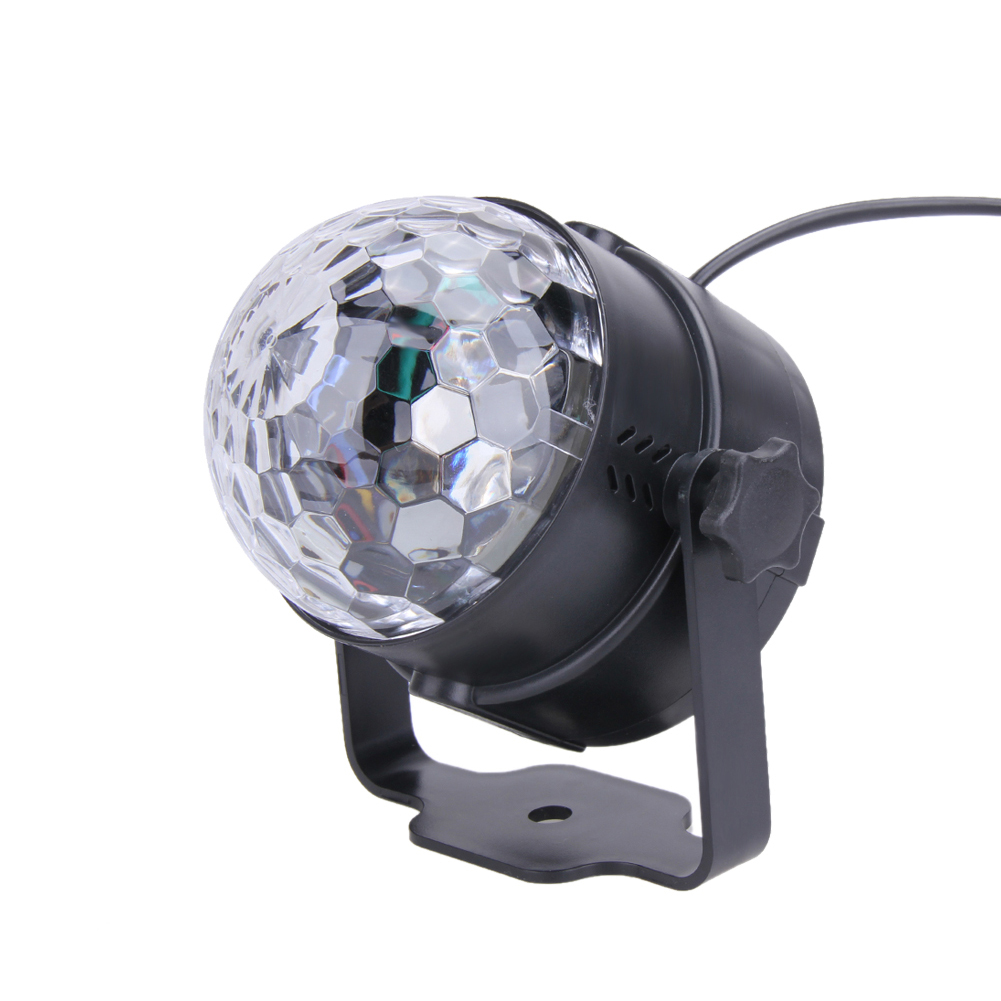 3W RGB Magic Rotating Ball Effect Led Stage Lights KTV Party Club Christmas Laser Projector Lights (without remote control) rg mini 3 lens 24 patterns led laser projector stage lighting effect 3w blue for dj disco party club laser