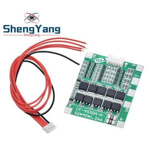 Image 2 - New Arrival 4S 30A 14.8V Li ion Lithium 18650 Battery BMS Packs PCB Protection Board Balance Integrated Circuits