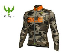 2016 Long Sleeves Bicycle Cycling Wear/Ropa Ciclismo Bike Cycling Shirt Cycling Clothing Camouflage Cycling Jersey