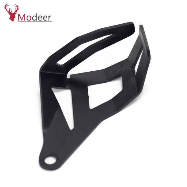 For BMW R1250 GS HP R 1250 GS Adventure Motorcycle Accessories Rear Brake Fluid Reservoir Guard Cover Protect With Logo R1250GS