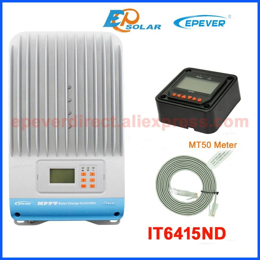 36 В 2400 Вт солнечная система панелей MPPT высокого напряжения IT6415ND 60A 60 ампер MT50 дистанционного метр солнечное зарядное устройство контроллер