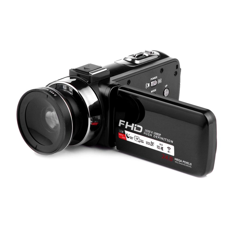 Camcorder Video Camera Full HD 1080p 24.0 MP Digital Camera Camcorders 16X Digital Zoom ...