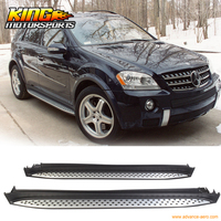 For 06 11 Mercedes Benz W164 ML320 350 500 OE Nerf Side Step Bar Running Boards