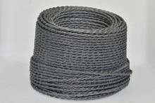 Twist wire weaving Edison droplight line Europe North America nostalgic restoring matte cotton gray decorative chandelier