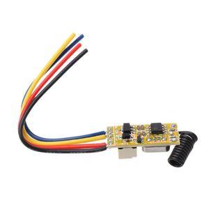 Image 5 - リモートスイッチ DC3.7V 4.2 v 5 v 6 v 7.4 v 8.4 v 9 v 12 v 出力 0 12v ドライ接点リレースイッチング値 no com nc 315 mhz 433 mhz
