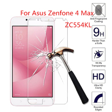 2pcs for Asus Zenfone 4 Max ZC554KL Tempered Glass 9H 2.5D Premium Screen Protector Film For Asus Zenfone 4 Max ZC554KL 5.5