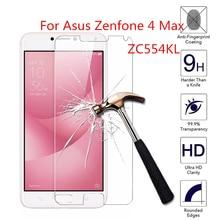 2pcs for Asus Zenfone 4 Max ZC554KL Tempered Glass 9H 2.5D Premium Screen Protector Film For Asus Zenfone 4 Max ZC554KL 5.5 защитная плёнка для asus zenfone 4 max zc554kl суперпрозрачная luxcase