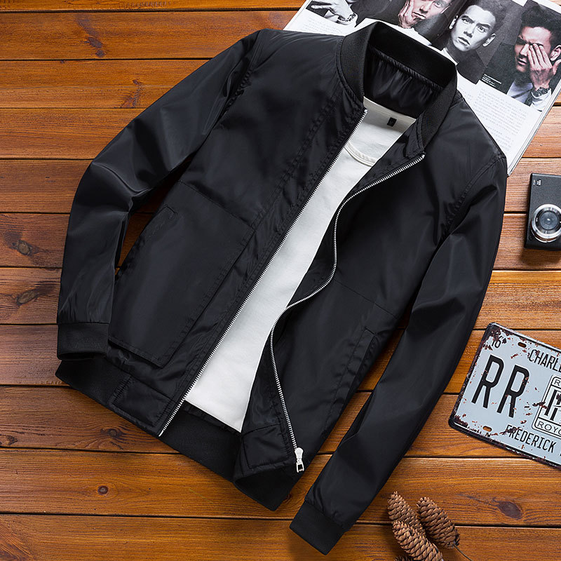 New Arrival Spring Autumn Men's Jacket Men Casual Jackets Solid Fashion Coats Outwear Windbreaker Tourism Mountain Male Clothing-in Jackets from Men's Clothing on Aliexpress.com | Alibaba Group