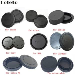 Foleto Camera Rear Cap Lens Cap Dust-proof Protect for Canon Eos Nikon N1 Sony