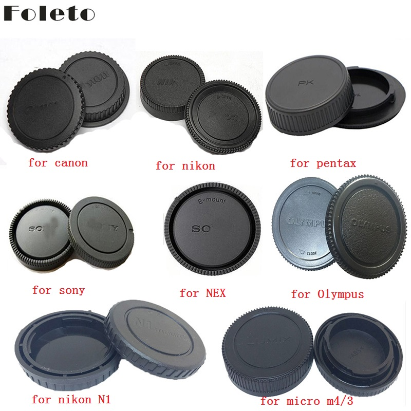 Body+Rear Lens Cap Cover Protective Case For Olympus M4//3 Camera Accessory D/_N