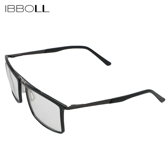 ibboll Mens Classic Optical Glasses Transparent Lens Fashion Men ...