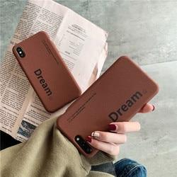 Matte TPU soft cellphone cover for iPhone Xr case iPhone Xs Max case X XS iPhone 6 6s Plus 6G 6P iPhone 7 7P 8 Plus Dream coffee 2
