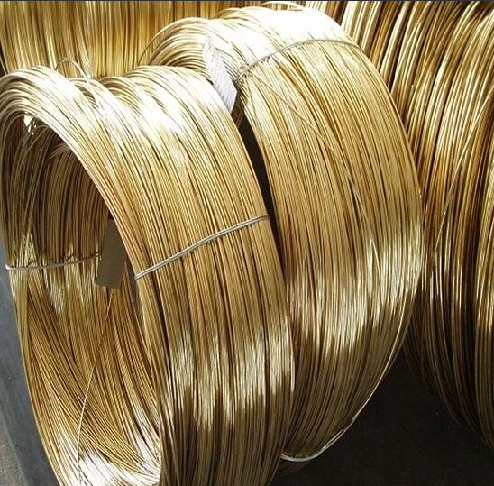 4MM X 2M  Grade H62 New Brass Wire Rod Copper Round Wire Line Hardware Material Free Shipping