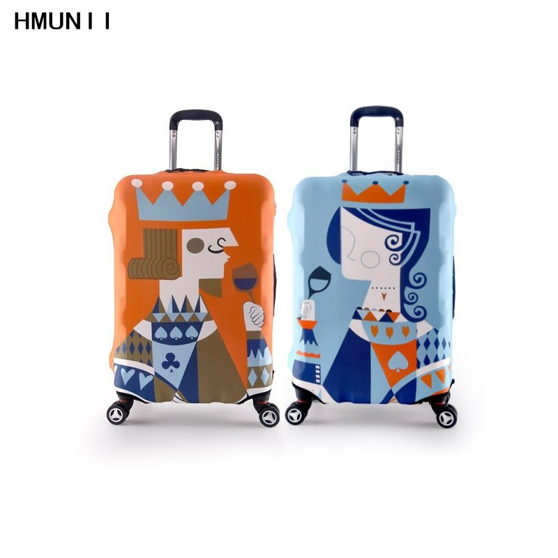 Couples Fashion Travel Luggage Suitcase Protective Cover for Trunk Case Apply to 19 32 Suitcase Cover
