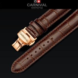 Image 5 - Carnival Top Brand Luxury Mens Watches Sapphire Fashion Mechanical wrist Watch Multifunction 6 Hands moon phase waterproof reloj