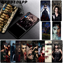 WEBBEDEPP The Vampire Diaries Soft TPU Case for Samsung Galaxy S6 S7 Edge S8 S9 S10 Plus S10e