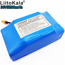 цена на Liitokala 36v 5.2ah lithium battery 10s2p 36v battery 5200mAh lithium ion battery pack 42V 5200mah balance car battery bms