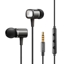 hot deal buy in-ear universal metal earphones mobile phone computer microphones hifi music headset sports running stereo headset portable f4