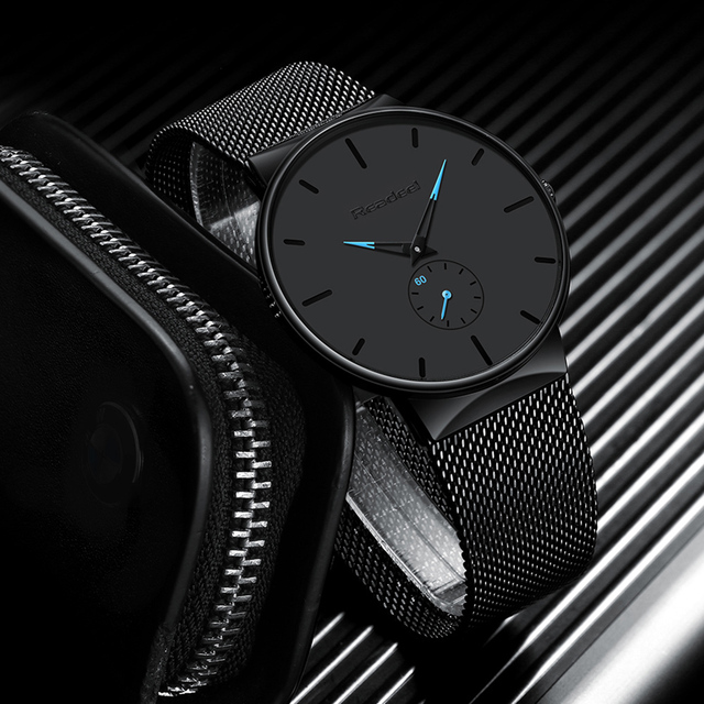 Stylish Mens Ultra Thin Sports Watch