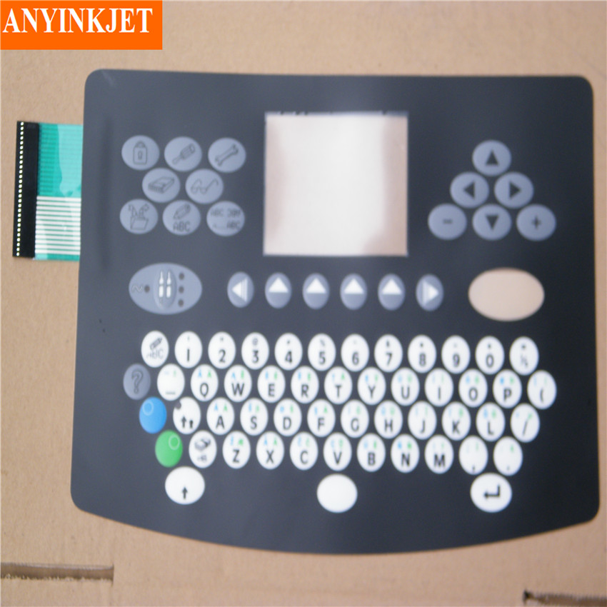 keyboard display for Domino A100 A200 A300 series printer keyboard display for videojet vj1510 vj1210 vj1610 vj1520 vj1220 vj1620 series printer