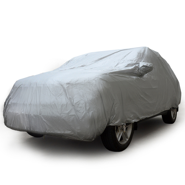 Universal SUV Automobile Car Cover UV Sun Dust Proof Resistant Full Cars Covers Coat M L XL For Toyota Jeep Chevrolet Land Rover 1